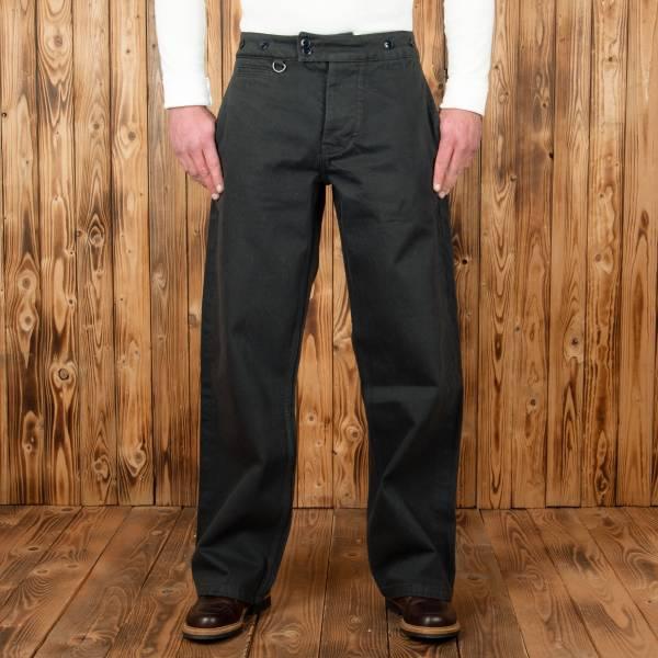 Pike Brothers 1905 Hauler Pant Steel grey denim