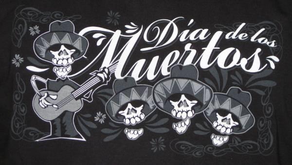 T-SHIRT Dia de los Muertos - Mexican Band