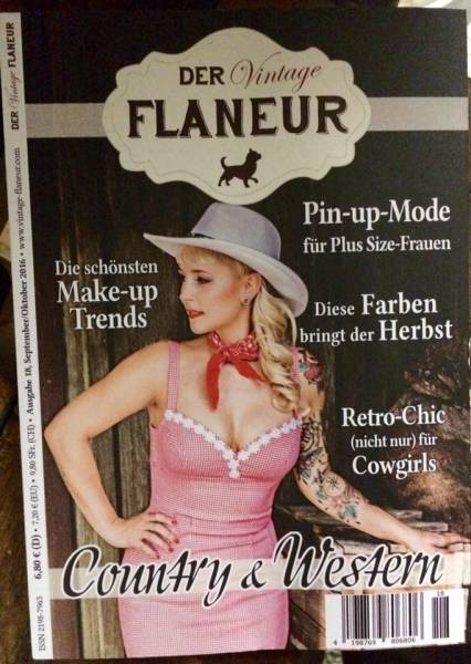 Der Vintage Flaneur Ausgabe 18 - September / Oktober 2016