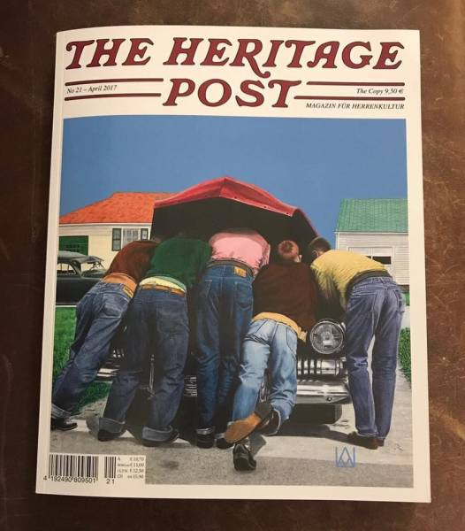The Heritage Post No. 21 - April 2017 - Magazin für Herrenkultur