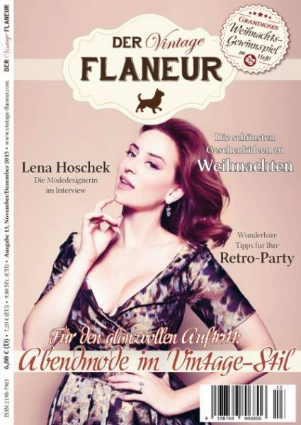 Der Vintage Flaneur Ausgabe 13 - November/Dezember 2015