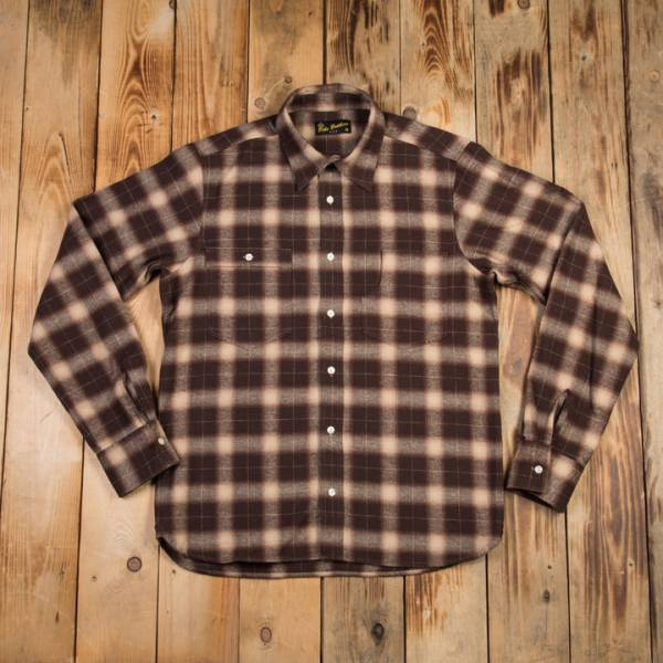 Pike Brothers 1937 Roamer Shirt Brown Beige Check