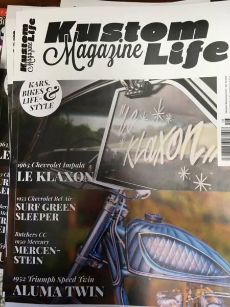 Kustom Life Magazine #19- Oktober/November 2018
