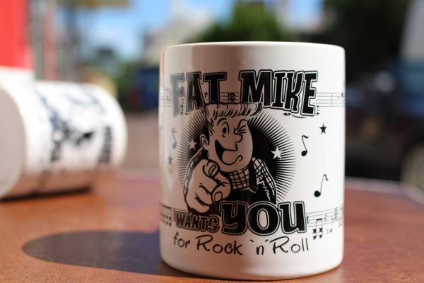 Kaffeebecher Collectors Mug #2: Fat Mike wants you for Rock n Roll- Tasse