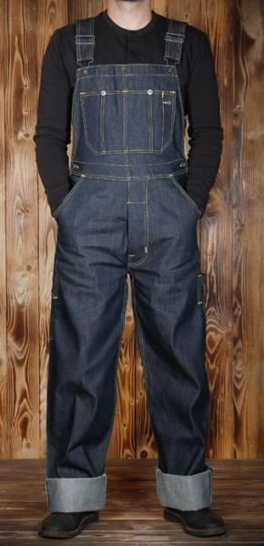 Pike Brothers 1935 Mechanic Bib - Echte 30er Jahre Workwear Latzhose