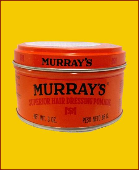Murrays superior Hair dressing Pomade Orange