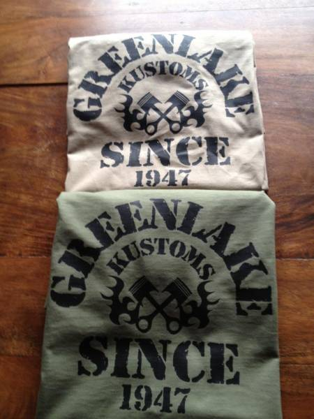 T-SHIRT Greenlake Kustoms since 1947