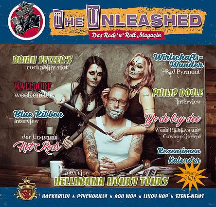 The Unleashed 53 - Das Rock n Roll Magazin Ausgabe 10 - August/September 2017