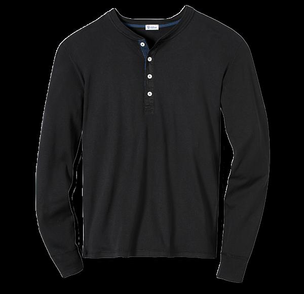 Schiesser Revival - Shirt 1/1-Arm KARL-HEINZ schwarz