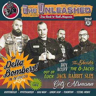 The Unleashed - Das Rock n Roll Magazin Ausgabe 14 - April / Mai 2018