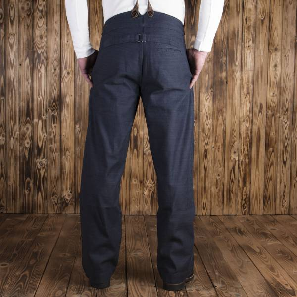 Pike Brothers 1905 Hauler Pant Steel blue denim
