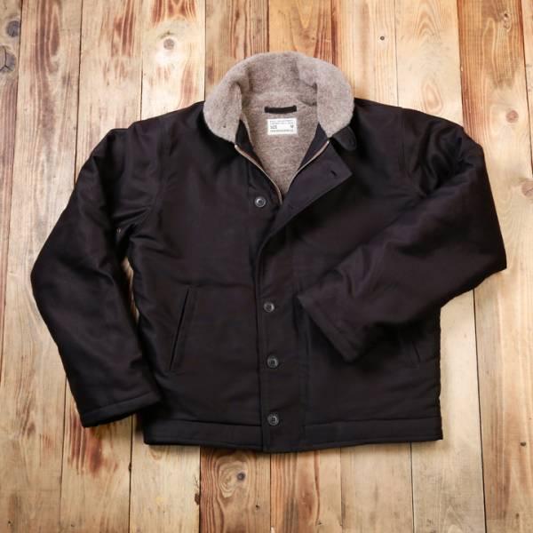 1944 N1-Deck Jacket faded black* Navy Jacke