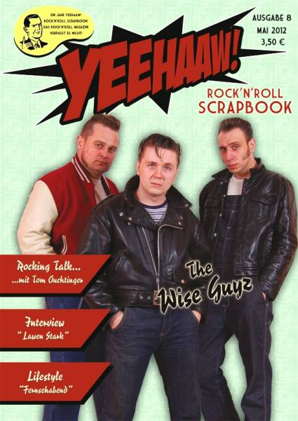 YEEHAAW! Rock n Roll Scrapbook - Magazin Ausgabe 8