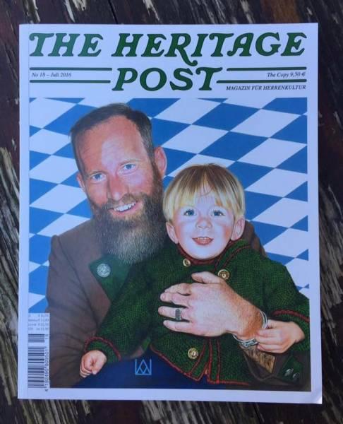 The Heritage Post No. 18 - Juli 2016 - Magazin für Herrenkultur