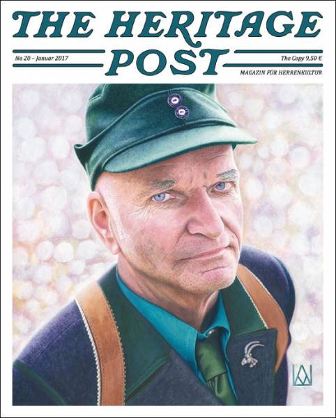 The Heritage Post No. 20 - Januar 2017 - Magazin für Herrenkultur