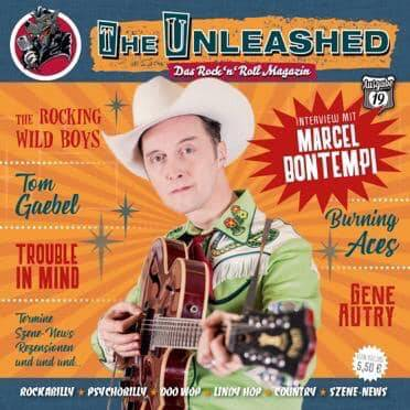 The Unleashed - Das Rock n Roll Magazin Ausgabe 19 - Februar / März 2019 - in german language!