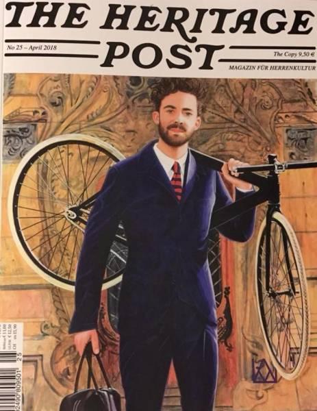 The Heritage Post No. 25 - April 2018 - Magazin für Herrenkultur