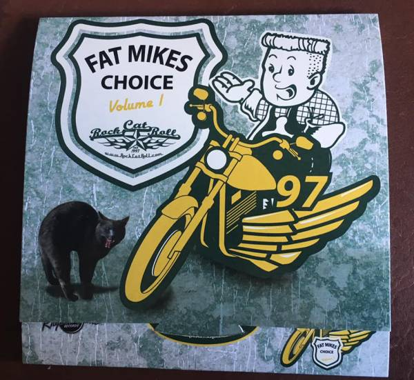 Fat Mikes Choice Vol. #1 - Sampler with 26 hot rockin´ tracks