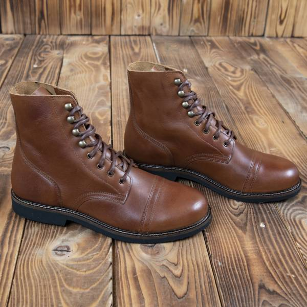 Pike Brothers 1966 Low Quarters redwood brown