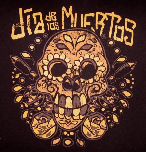T-SHIRT Dia de los Muertos - Mexican Skull
