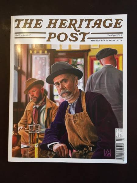 The Heritage Post No. 22 - Juli 2017 - Magazin für Herrenkultur