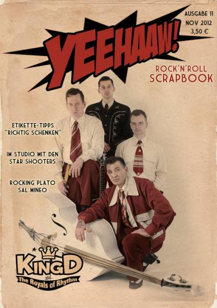 YEEHAAW! Rock n Roll Scrapbook - Magazin Ausgabe 11
