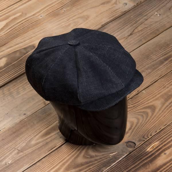 1928 Newsboy Cap 15oz indigo