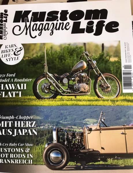 Kustom Life Magazine - August / September 2017