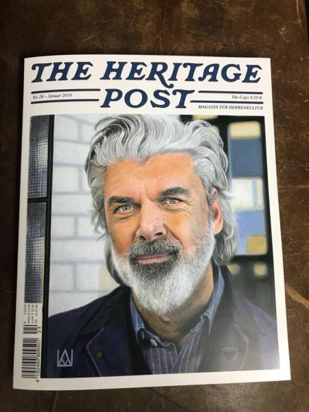 The Heritage Post No. 24 - Januar 2018 - Magazin für Herrenkultur