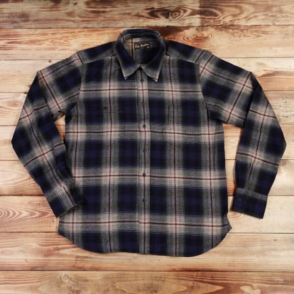 Pike Brothers 1937 Roamer Shirt Blue Beige Check