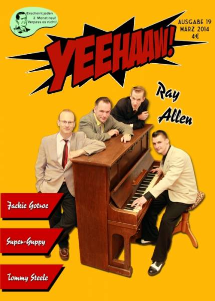 YEEHAAW! Rock n Roll Scrapbook - Magazin Ausgabe 19