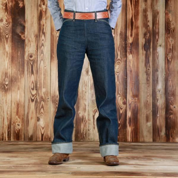 ABIGAIL Jeans - Ann Sheppard Classic 1940s Work Pant - Klassische High Waist 11 Unzen Ladies Jeans