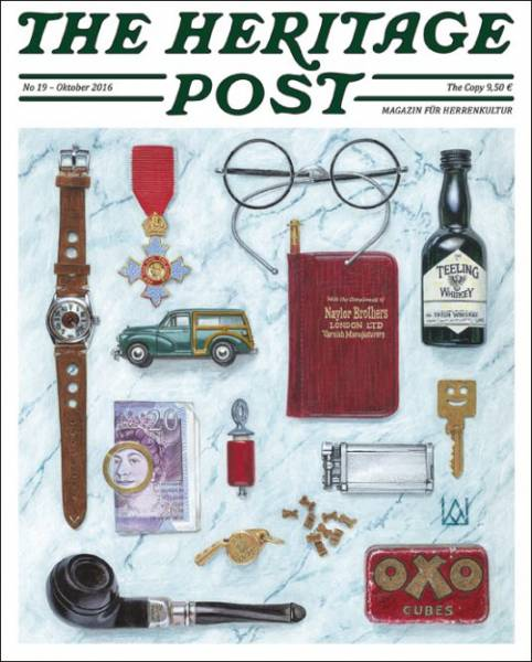 The Heritage Post No. 19 - Oktober 2016 - Magazin für Herrenkultur
