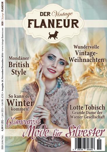 Der Vintage Flaneur Ausgabe 19 - November / Dezember 2016