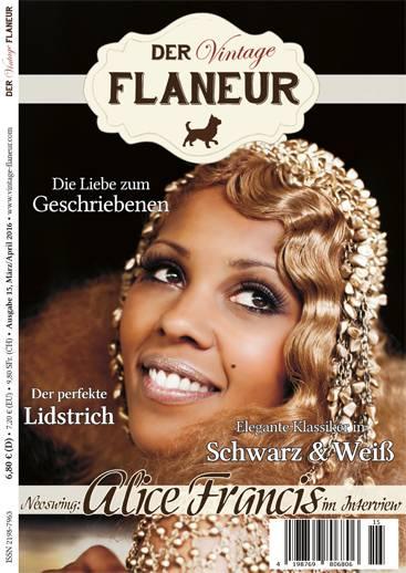 Der Vintage Flaneur Ausgabe 15 - März / April 2016