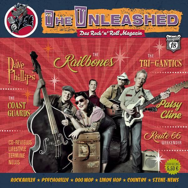 The Unleashed - Das Rock n Roll Magazin Ausgabe 18 - Dezember 2018 / Januar 2019