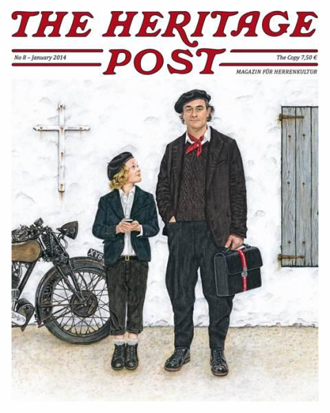 The Heritage Post No. 8 - Januar 2014 - Magazin für Herrenkultur