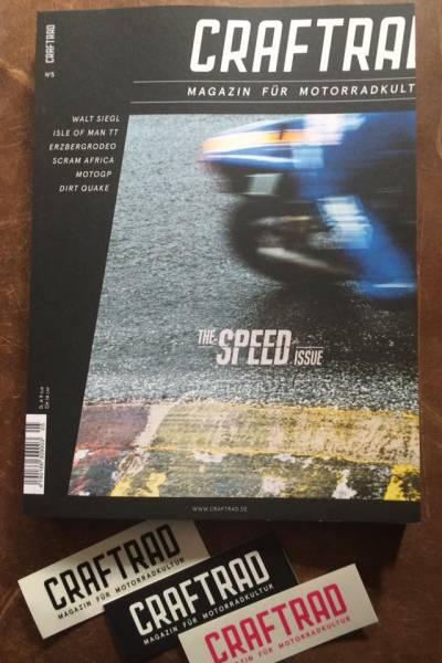 Craftrad No.5 -Magazin für Motorradkult-