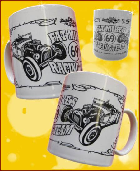 Kaffeebecher Collectors Mug #1: Fat Mikes Racing Team - Tasse