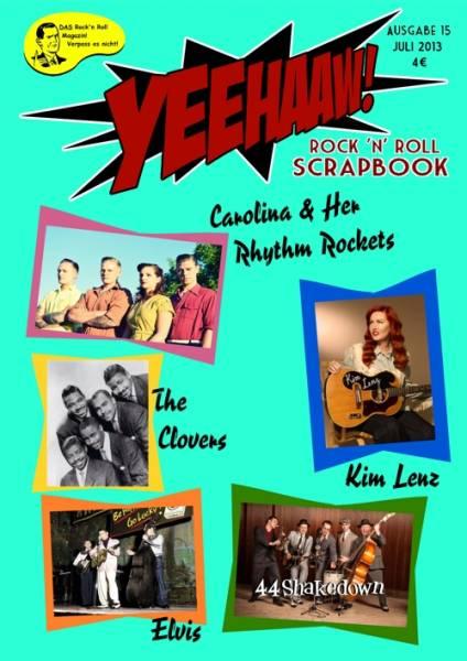 YEEHAAW! Rock n Roll Scrapbook - Magazin Ausgabe 15