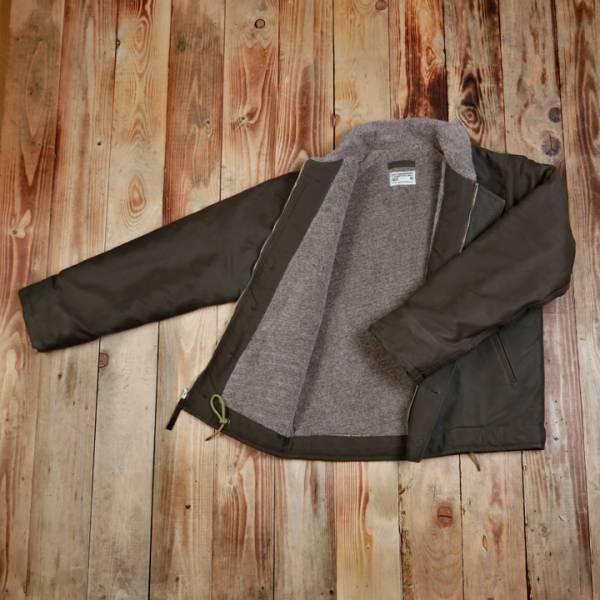 1944 N1-Deck Jacket waxed olive* Navy Jacke