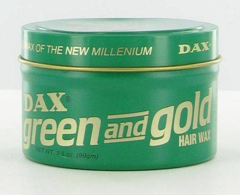 DAX Green and Gold Hair Wax