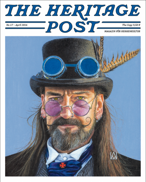 The Heritage Post No. 17 - April 2016 - Magazin für Herrenkultur