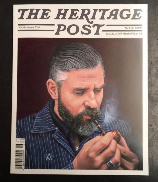 The Heritage Post No. 16 - Januar 2016 - Magazin für Herrenkultur