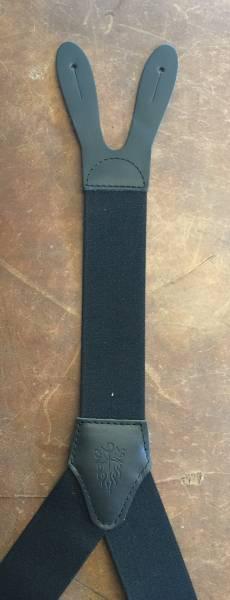 HOSENTRÄGER, 46mm breit, schwarz