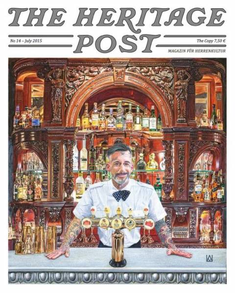 The Heritage Post No. 14 - July 2015 - Magazin für Herrenkultur