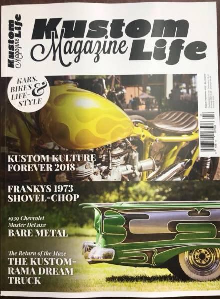 Kustom Life Magazine #18- August / September 2018