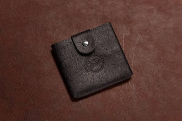 SCHEINBEWAHRER aus Vollrindleder, in 2 Größen, schwarz
