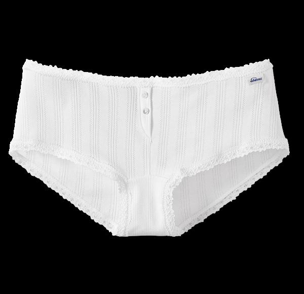 Schiesser Revival - Micro-Pants AGATHE weiß