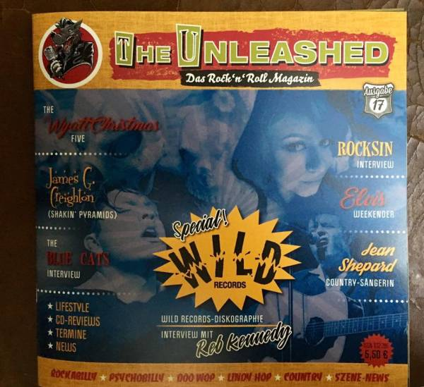 The Unleashed - Das Rock n Roll Magazin Ausgabe 17 - Oktober/November 2018